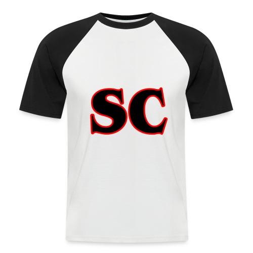 Classic StrangeCommunity logo - Mannen baseballshirt korte mouw