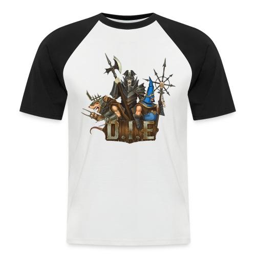 THE logo - Evil Characters - Men's Baseball T-Shirt
