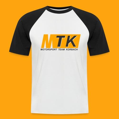 White Collection - Männer Baseball-T-Shirt