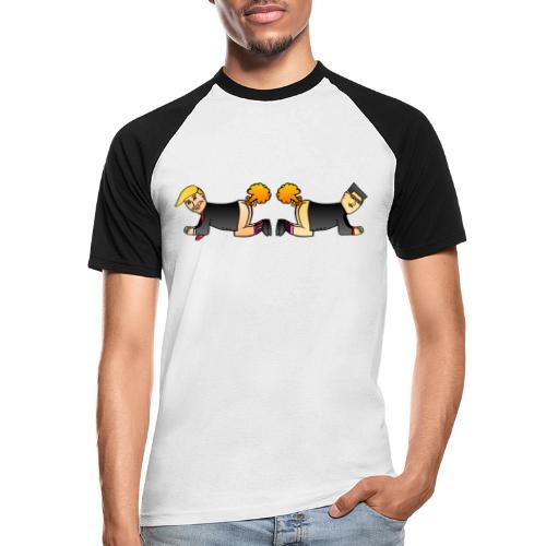 Trump Kim Logo - T-shirt baseball manches courtes Homme