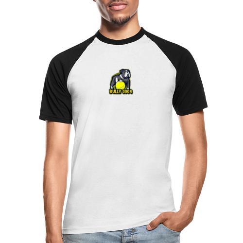 Logo mit #BullyArmy am Rücken - Männer Baseball-T-Shirt
