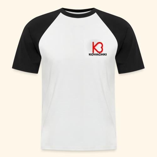 K3 - Camiseta béisbol manga corta hombre