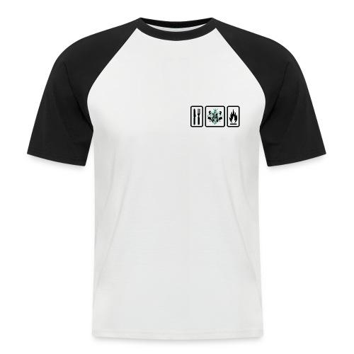 white trans small png - Männer Baseball-T-Shirt