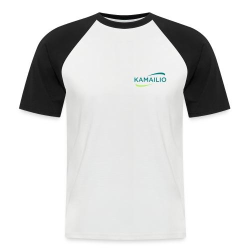 Kamailio two sides - Men's Baseball T-Shirt