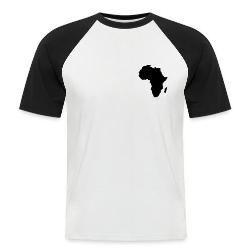 Black Africa png - Men's Baseball T-Shirt
