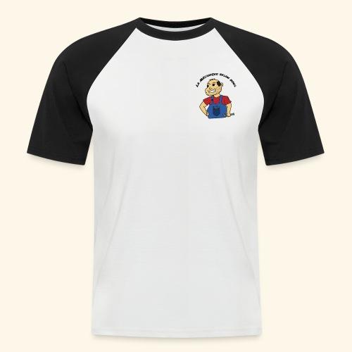 La Mécanique selon Boul - T-shirt baseball manches courtes Homme