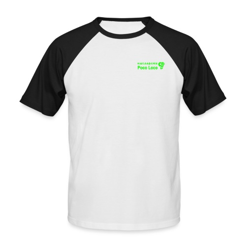 poco loco creations green - Men's Baseball T-Shirt