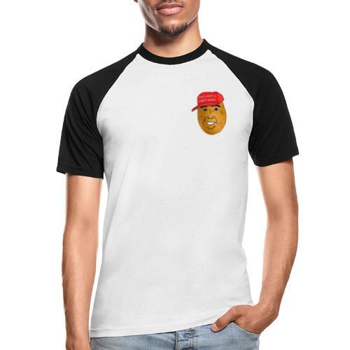Potato - T-shirt baseball manches courtes Homme