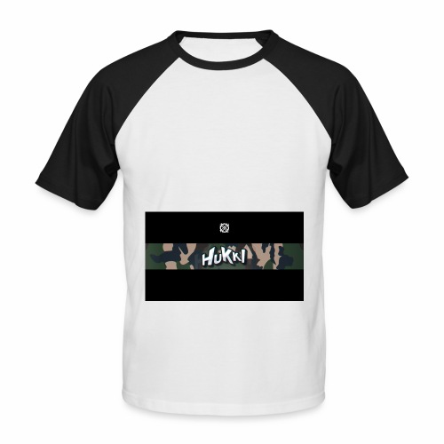 HuKKi - Männer Baseball-T-Shirt