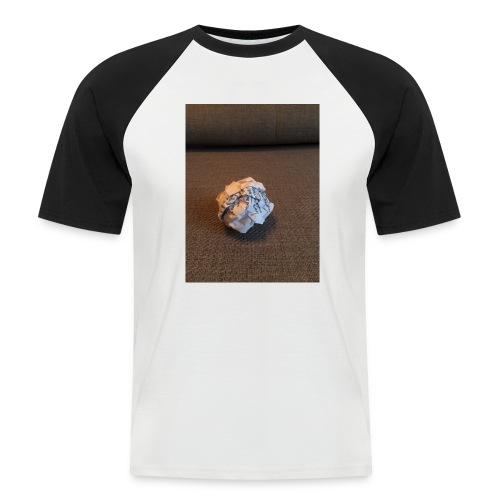 Jeg skal lave et projekt i billedkunst - Kortærmet herre-baseballshirt
