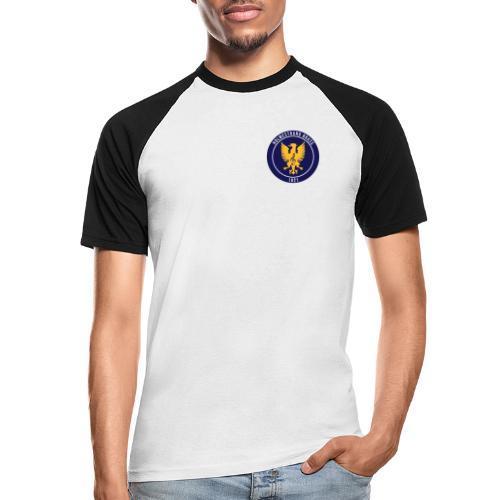 Holmestrand brass - Kortermet baseball skjorte for menn