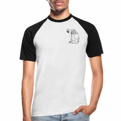 Camel Pose - Männer Baseball-T-Shirt