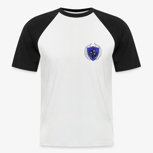 bblogo_neu_einfach - Männer Baseball-T-Shirt