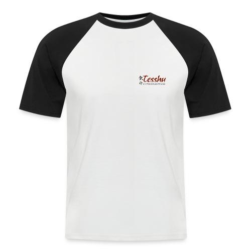 tesshu logo 2007 spreadshirtpng - Männer Baseball-T-Shirt