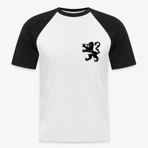 Blason Lions de Guerre - T-shirt baseball manches courtes Homme