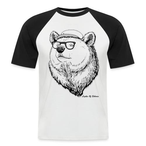 Lights Of Siberia - Men's Baseball T-Shirt