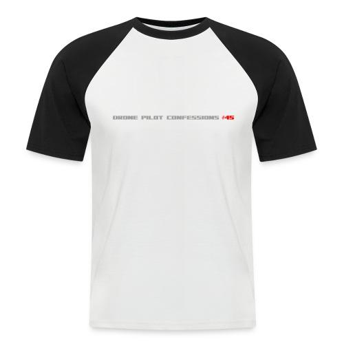 I CRASH A LOT - Men's Baseball T-Shirt