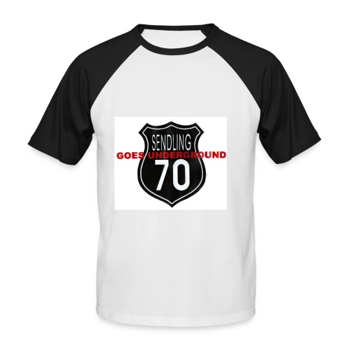 s70goes underground - Männer Baseball-T-Shirt