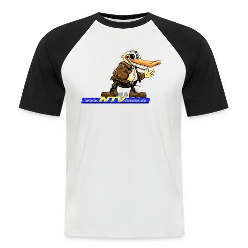 enteundlogo - Männer Baseball-T-Shirt