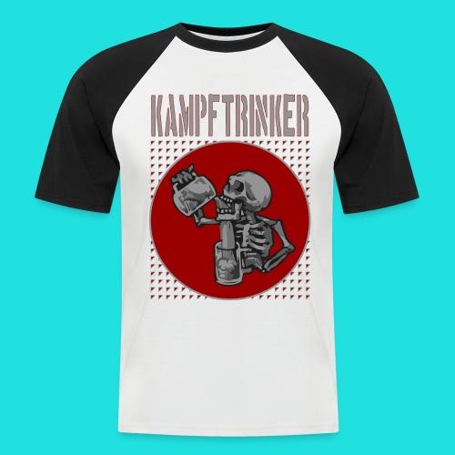 Kampftrinker - Männer Baseball-T-Shirt