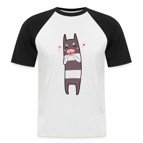 Donut Monster - Men's Baseball T-Shirt