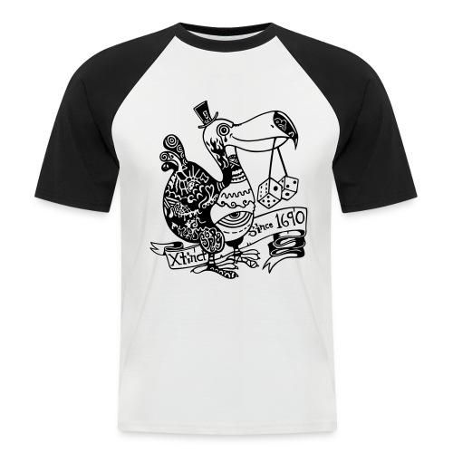 Dronte - Männer Baseball-T-Shirt