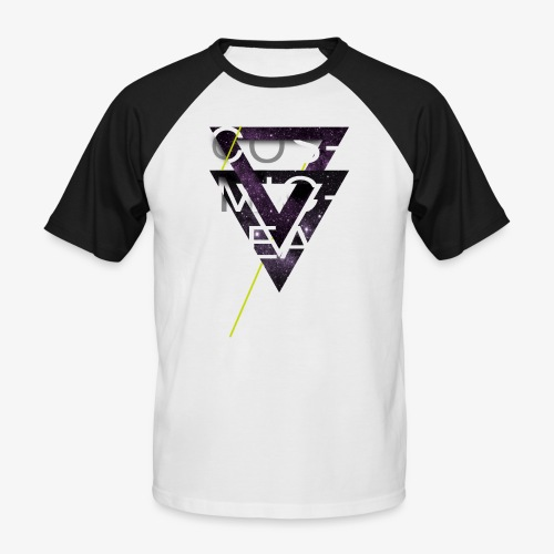 Cosmicleaf Triangles - Men's Baseball T-Shirt