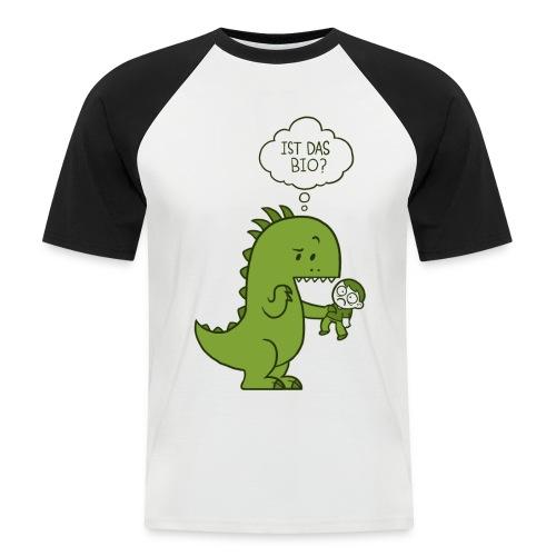 Bio-Dinosaurier - Männer Baseball-T-Shirt