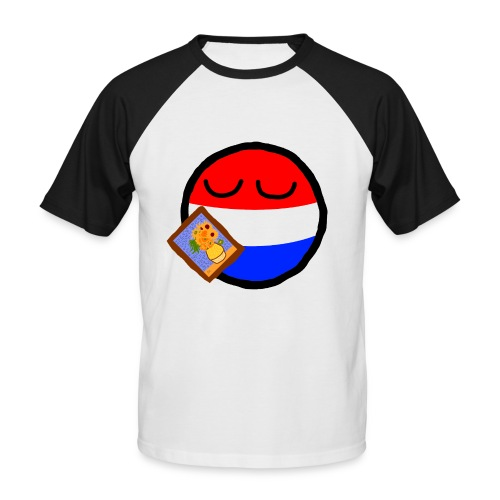 Netherlandsball - Men's Baseball T-Shirt