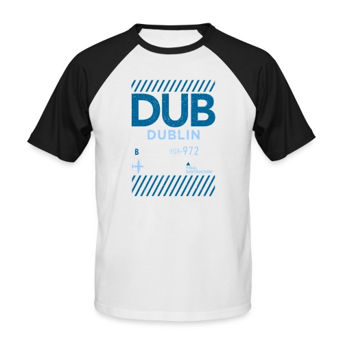 Dublin Ireland Travel - Men's Baseball T-Shirt