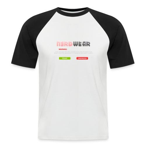 N3RD WEAR - Explicit - Männer Baseball-T-Shirt