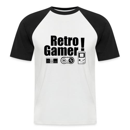 Retro Gamer! - Men's Baseball T-Shirt