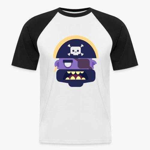 Mini Monsters - Captain Zed - Kortærmet herre-baseballshirt