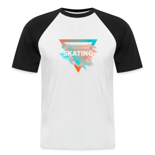 Skating Diffus - Männer Baseball-T-Shirt