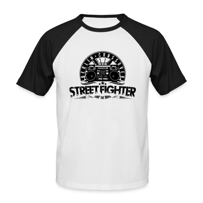Street Fighter - Bandlogo (Black)
