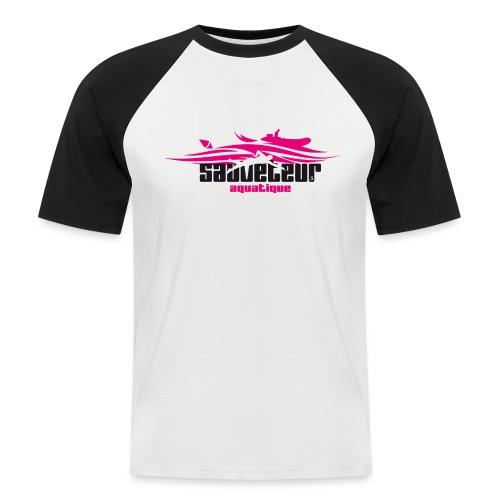 sauveteur aquatique - T-shirt baseball manches courtes Homme