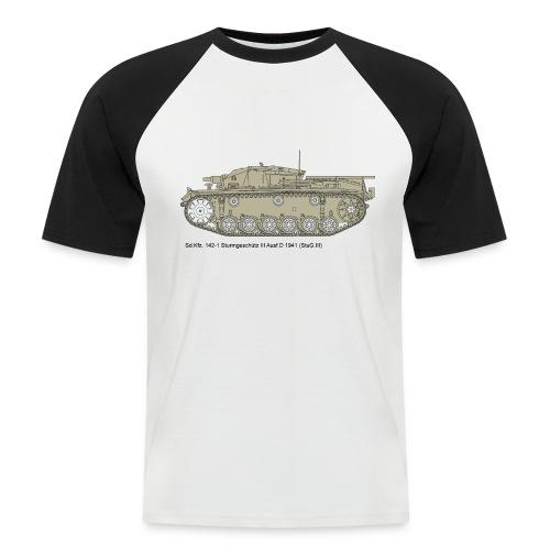 Stug III Ausf D. - Männer Baseball-T-Shirt
