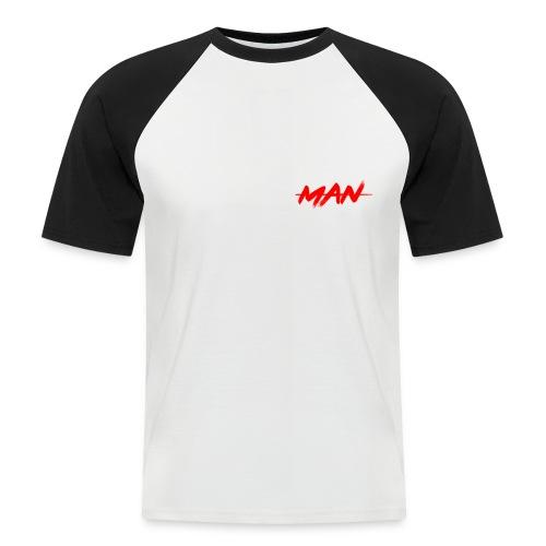 staceyman red design - Men's Baseball T-Shirt