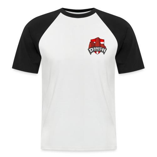 DanishRP Logo - Kortærmet herre-baseballshirt