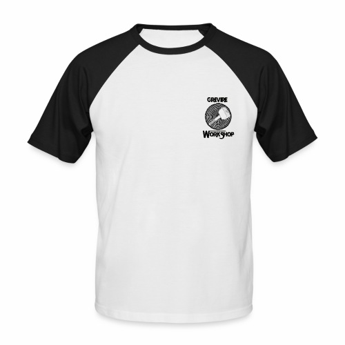 Logo Grevire WorkShop - T-shirt baseball manches courtes Homme