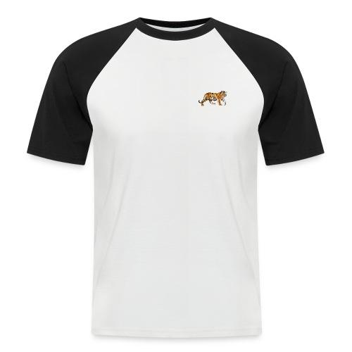 Tiger Designe - Männer Baseball-T-Shirt