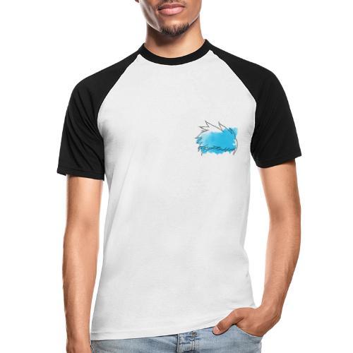 Blue Splat Original - Men's Baseball T-Shirt