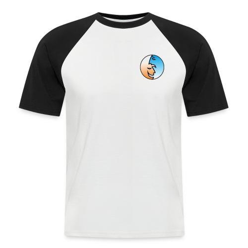 risa y llanto - Camiseta béisbol manga corta hombre