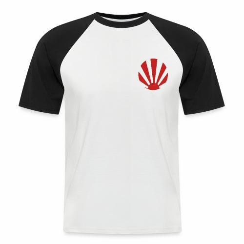 soleil nippon - T-shirt baseball manches courtes Homme