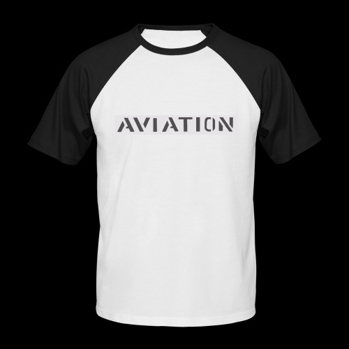 Aviation - Männer Baseball-T-Shirt