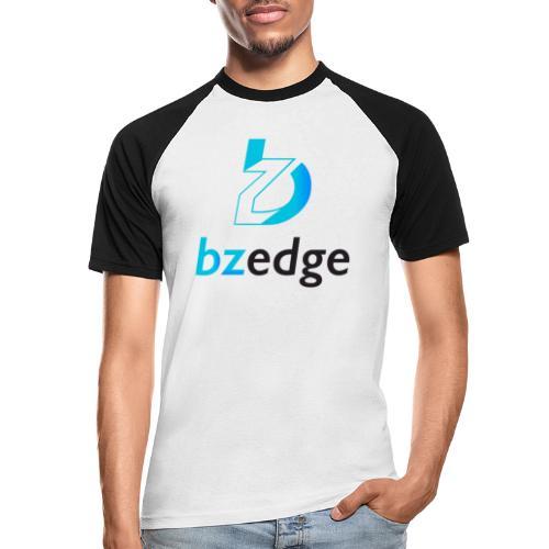 BZEdge Cutting Edge Crypto - Men's Baseball T-Shirt