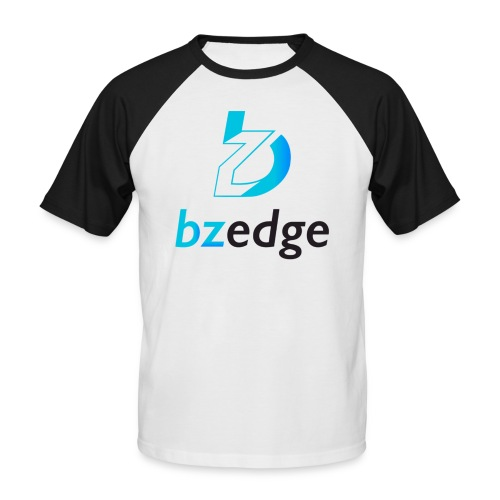 BZEdge Cutting Edge Crypto - Men's Baseball T-Shirt