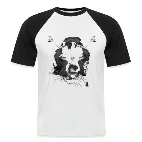 Pantere - T-shirt baseball manches courtes Homme