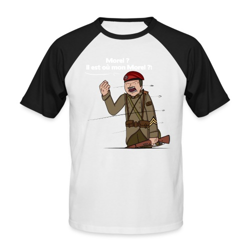 Sgt.Flantier 1940 - T-shirt baseball manches courtes Homme