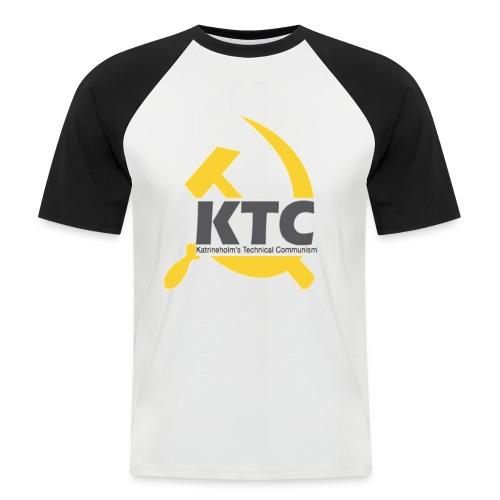 kto communism shirt - Kortärmad basebolltröja herr